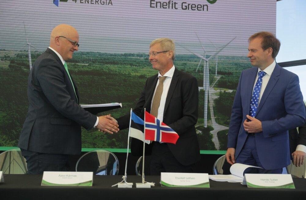 Eesti Energia tütarfrima ostab Nelja Energia.