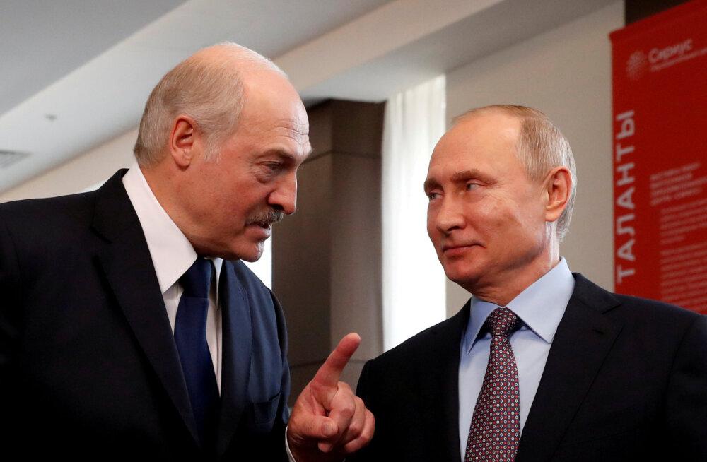 Lukašenka saabus Venemaale Sotšisse Putiniga kohtuma