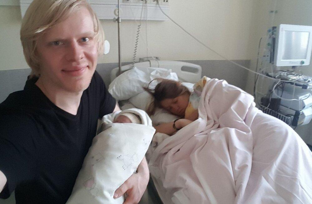 Vahva! Talvisel maikuupäeval Saaremaal sündinud kaksikud said nimeks Lumi ja Rahe