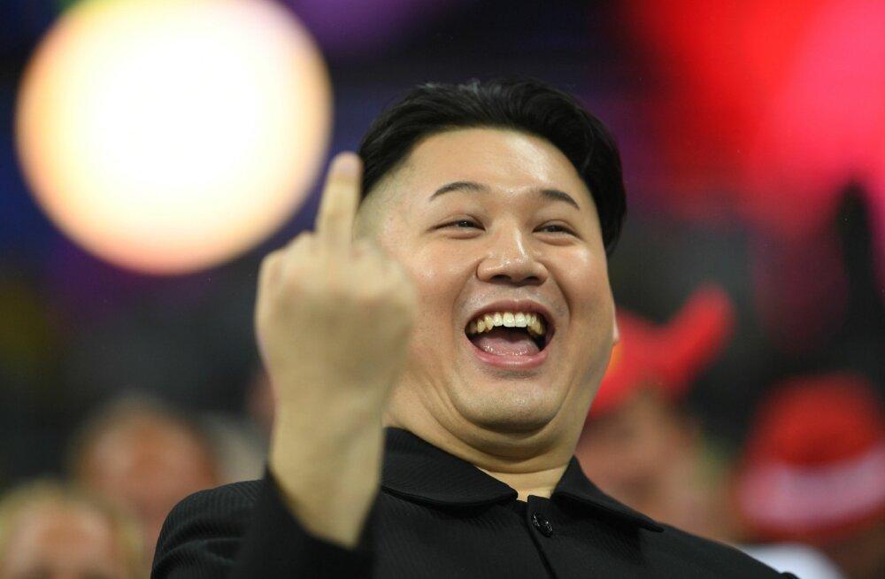 Põhja-Korea liidri Kim Jong-uni teisik.