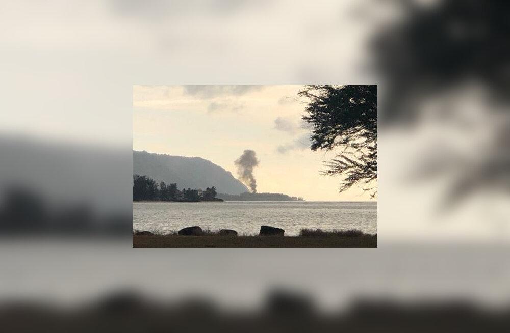 ВИДЕО: На Гавайях разбился самолет. Погибли все пассажиры