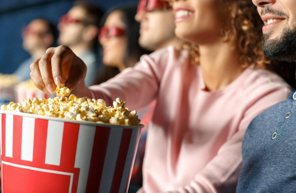 Eesti kinodes süüakse filme vaadates tonnide kaupa popkorni