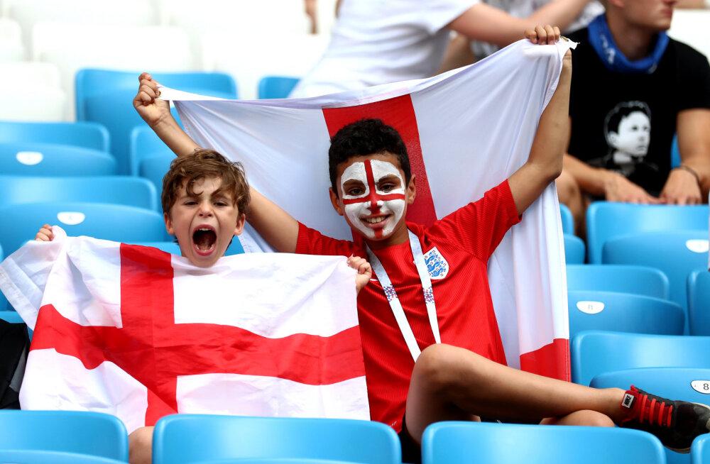 Miks olid Inglismaa ja Rootsi veerandfinaali ajal tribüünid sedavõrd tühjad?