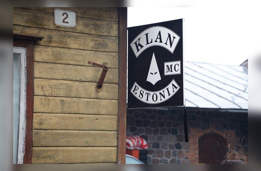 FOTOD: Pärnus tapetud mees oli motoklubi Klan liige.