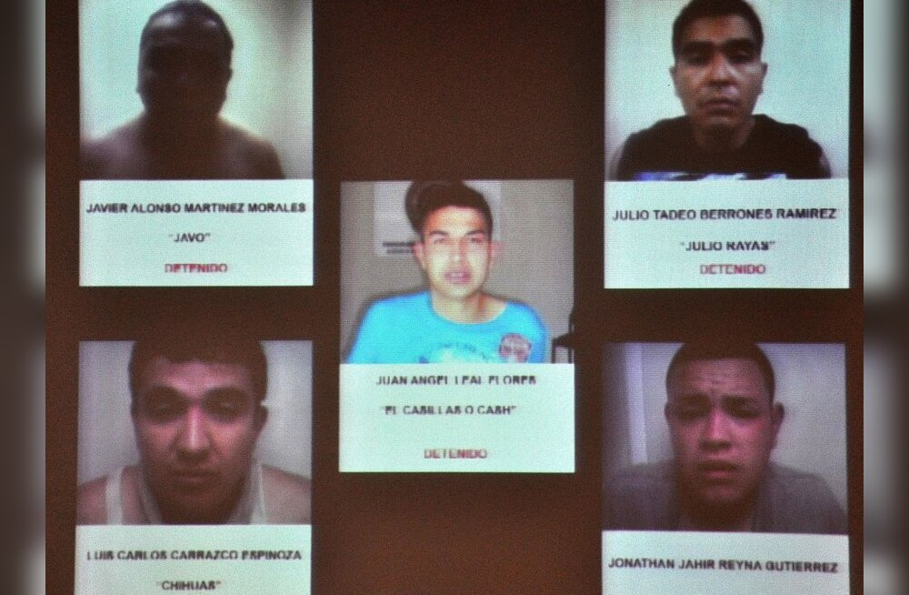 Mehhiko kasiinorünnakus osalenud mehed võeti kinni