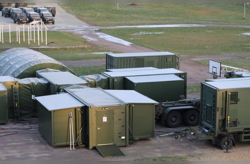 В четверг на Сааремаа начнет работу военно-полевой госпиталь