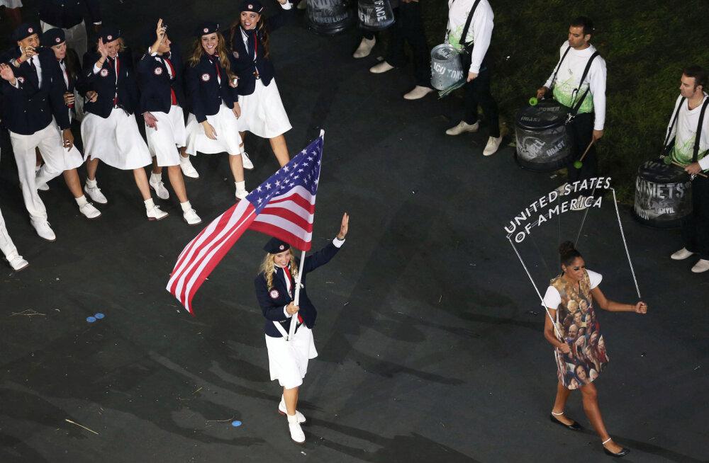 USA koondis ei langeta olümpia avamisel korraldajate ees iial oma lippu - aga miks?
