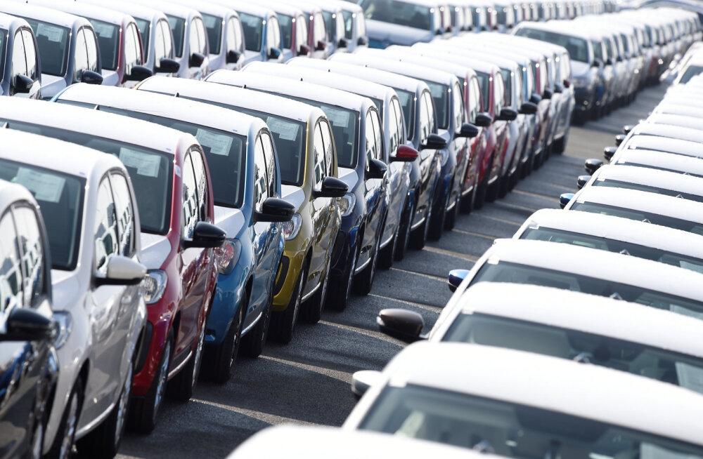 Autode müük Euroopas langes taas