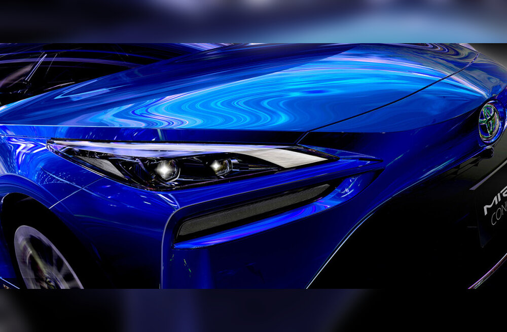 Toyota tõmbab Tokyo autonäitusel katte teise põlvkonna Mirai vesinikautolt