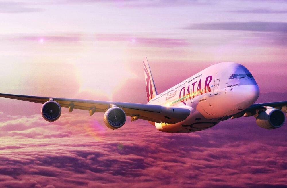 Qatar Airways müüb pileteid Tartust ja Tallinnast