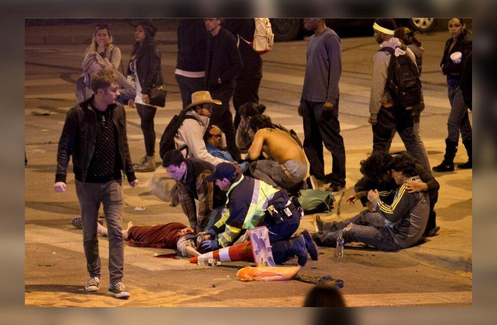 Texase festivalilinnas sõitis auto rahva hulka, hukkus kaks inimest