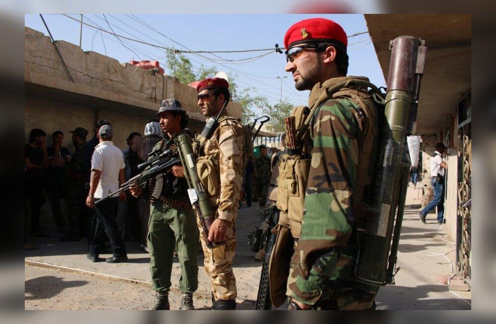 Iraagis peetakse ränki lahinguid 60 kilomeetri kaugusel Bagdadist