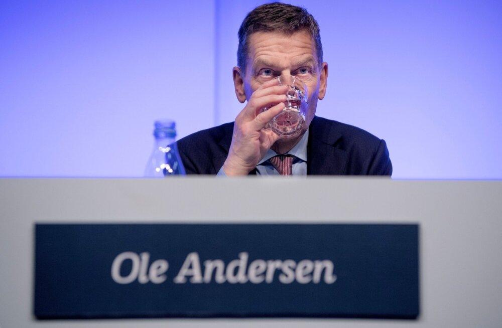 Danske panga nõukogu juht Ole Andersen detsembri alguses