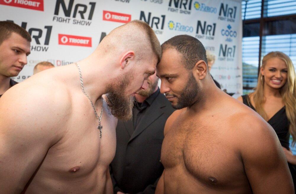NR 1 Fight Show kaalumine
