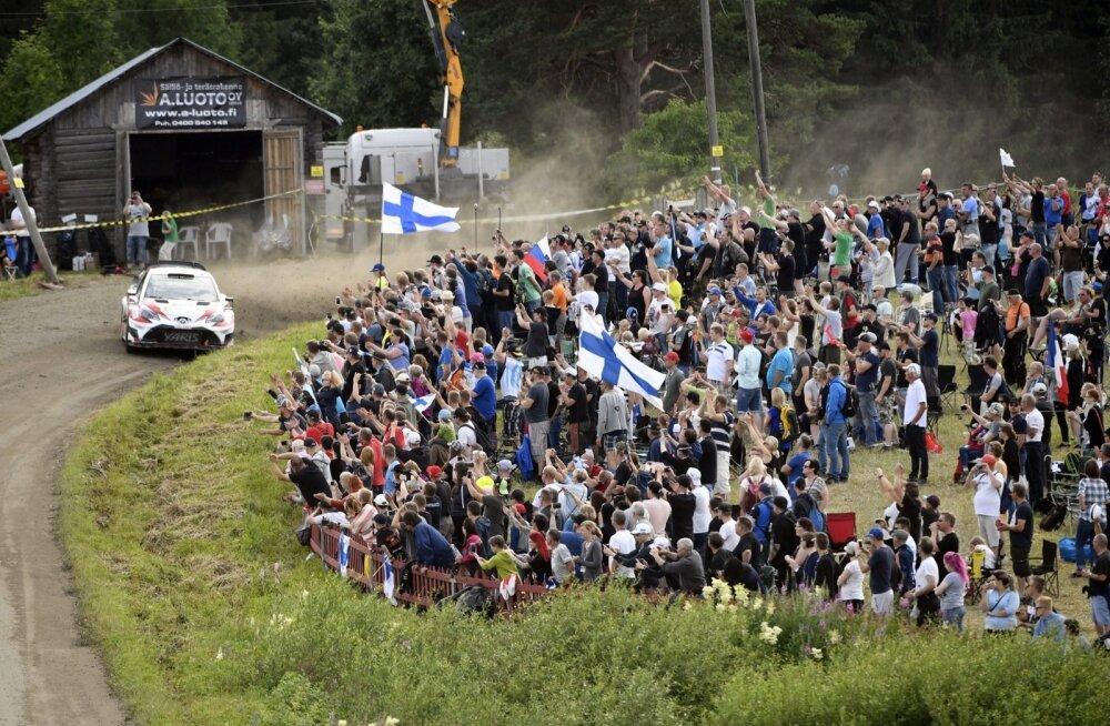 Soome rallit saadavad pealtvaatajate hordid