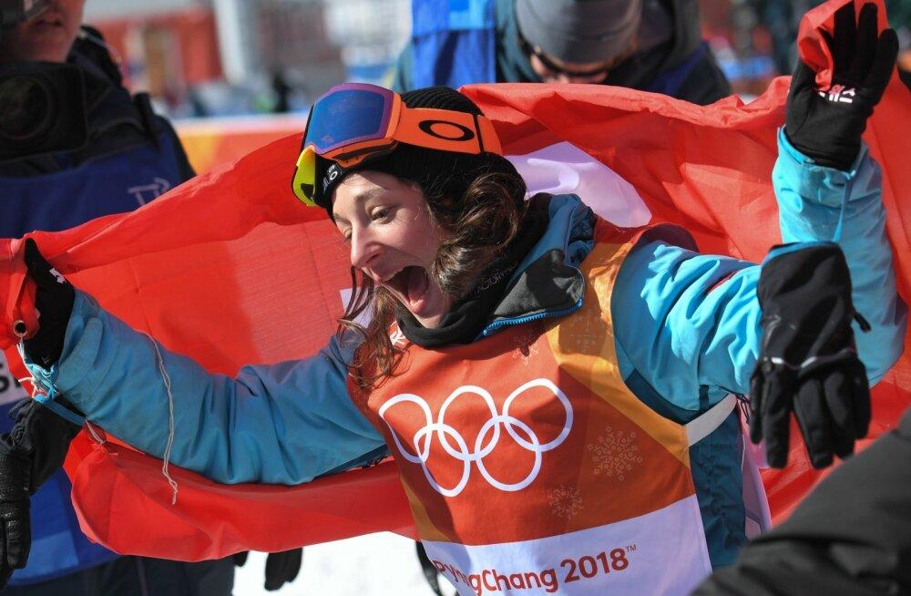 Olümpiavõitja Sarah Höfflin.
