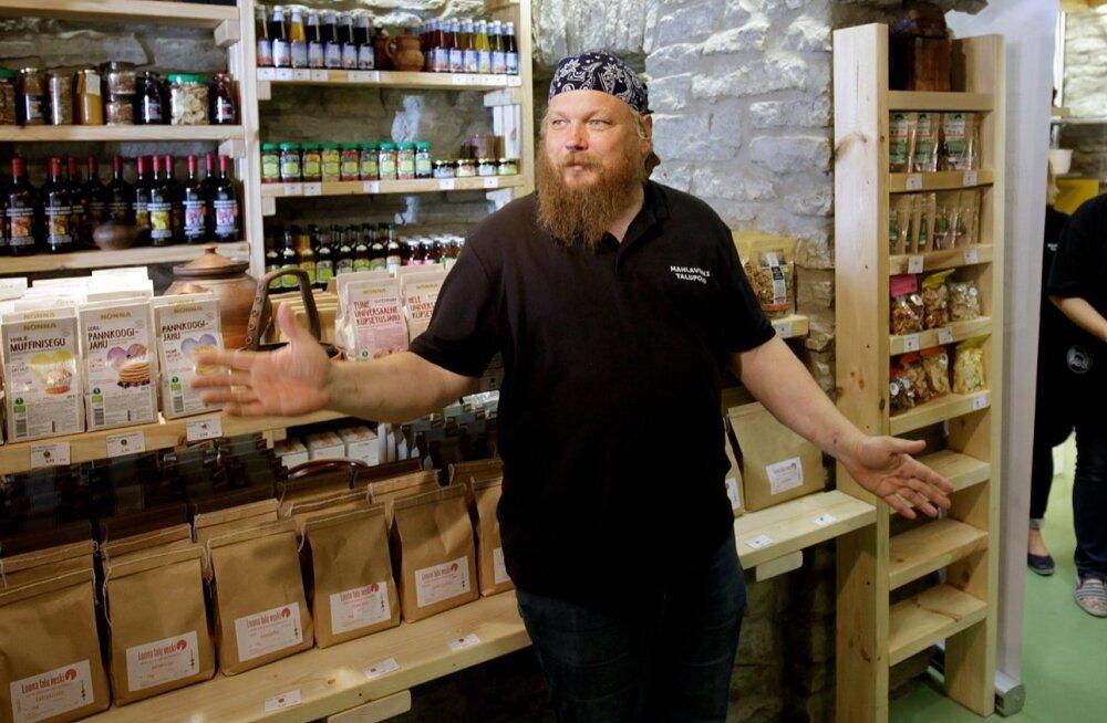 Mahlaveski talupoe avamine Tallinnas.