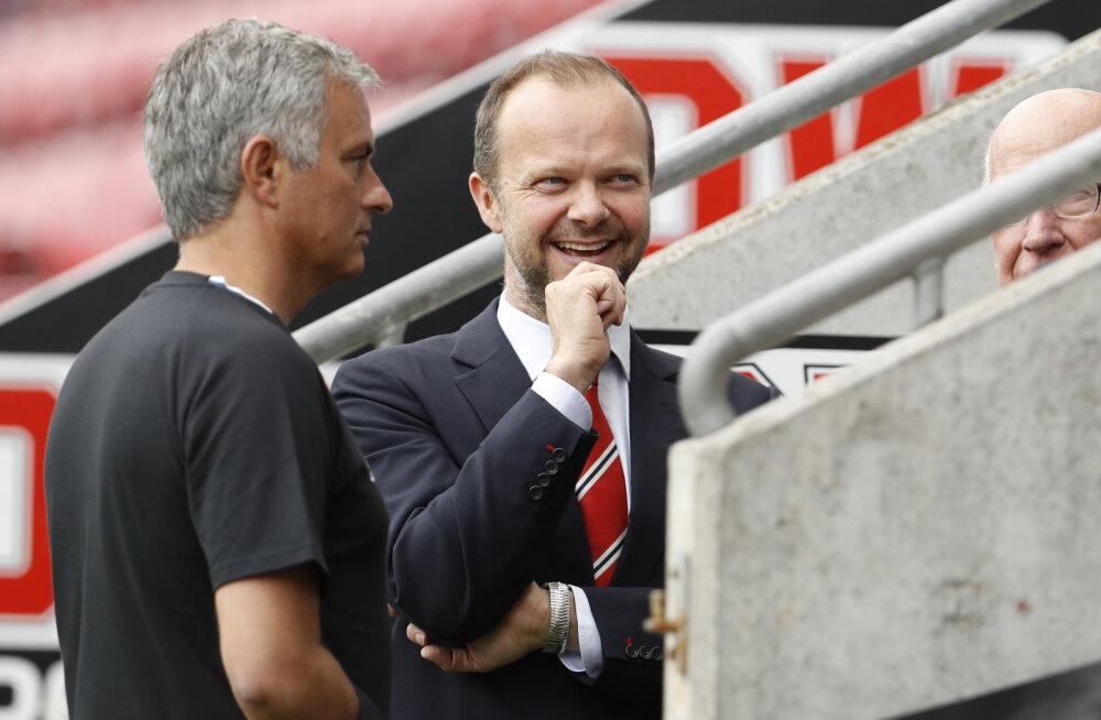 Jose Mourinho ja Ed Woodward