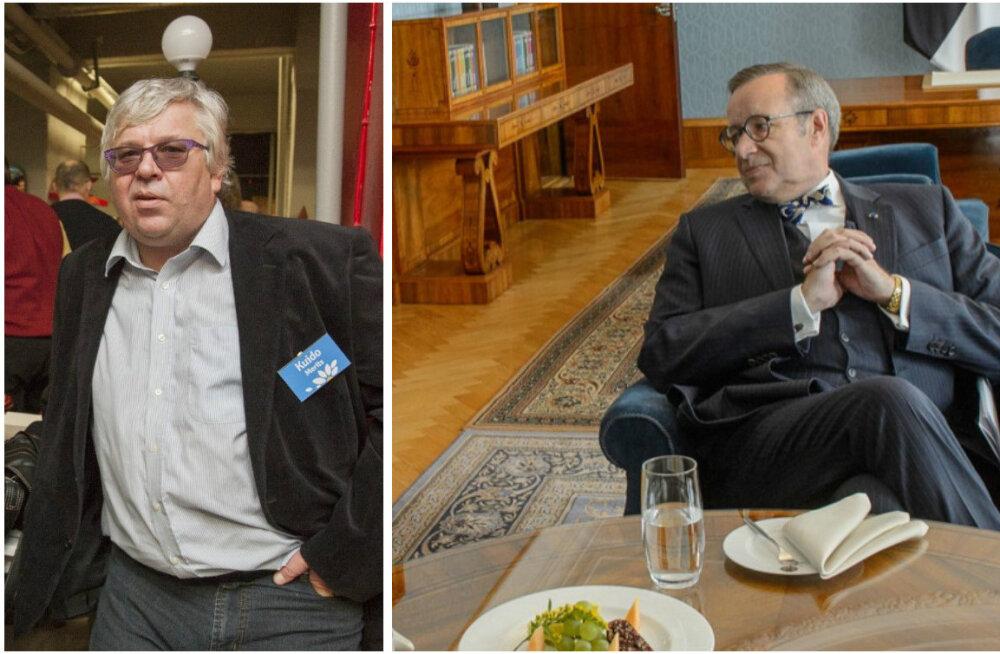 """Kuido Merits meenutab oma äsjailmunud raamatus president Ilvese sõnu New Yorgi restoranis: """"Suur tänu Eesti maksumaksjale!"""""""
