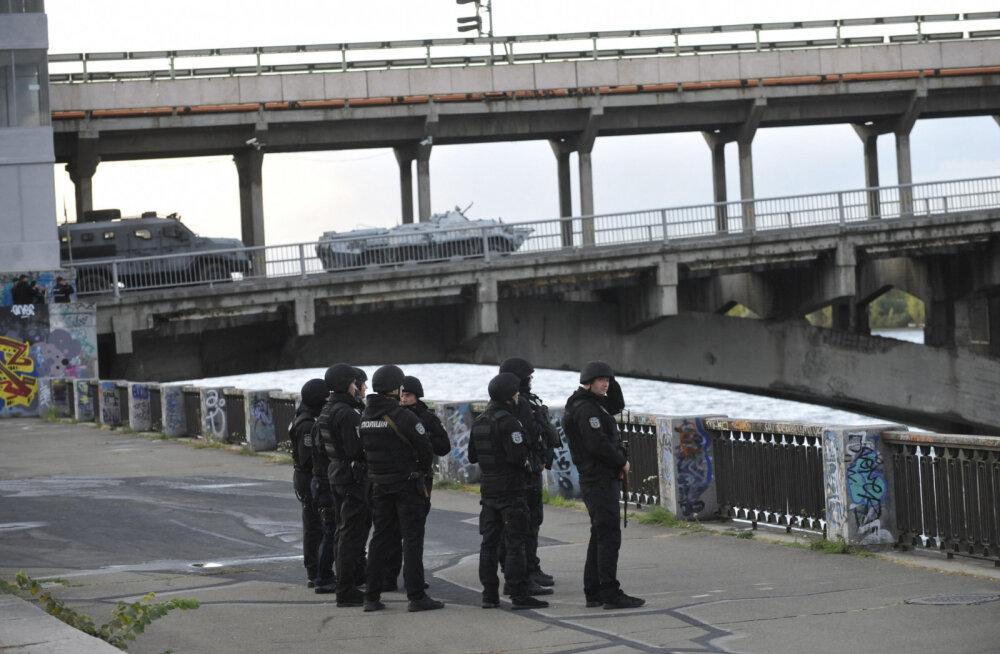 VIDEO | Endine eriväelane ähvardas Kiievis silla õhkida
