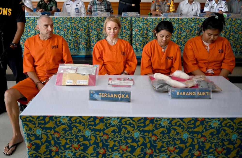 4 иностранных туристов арестовали на Бали за провоз наркотиков. Теперь им грозит смертная казнь
