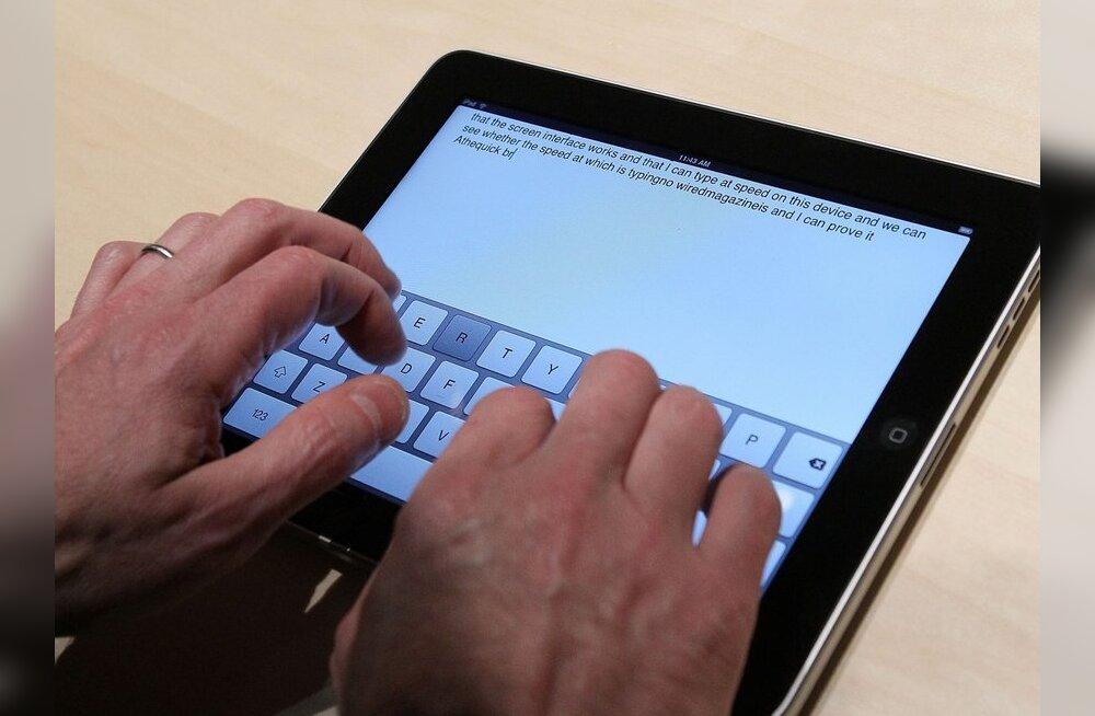 Reaalkool õpib iPad'idega