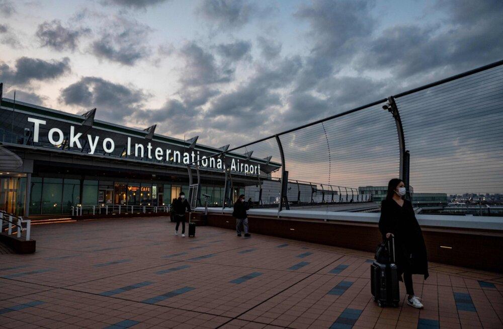 VIDEO   Jaapan teatas uue koroonatüve esimesest juhtumist ja sulges riigipiiri kõigile välismaalastele