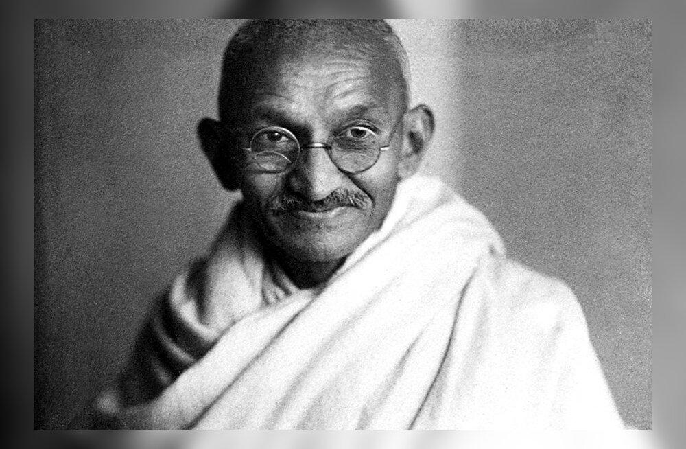 Mahatma Gandhi: Vägivallatus on suurim inimkonna käsutuses olev jõud