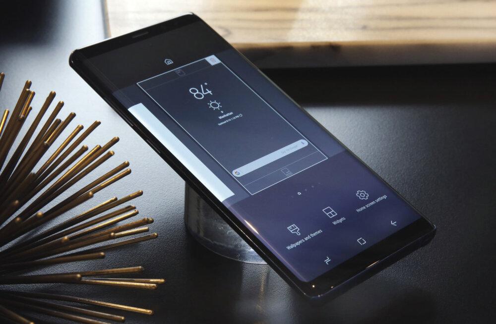 Esmatutvus: Samsungi uhiuus ja seni kalleim tipptelefon Galaxy Note 8