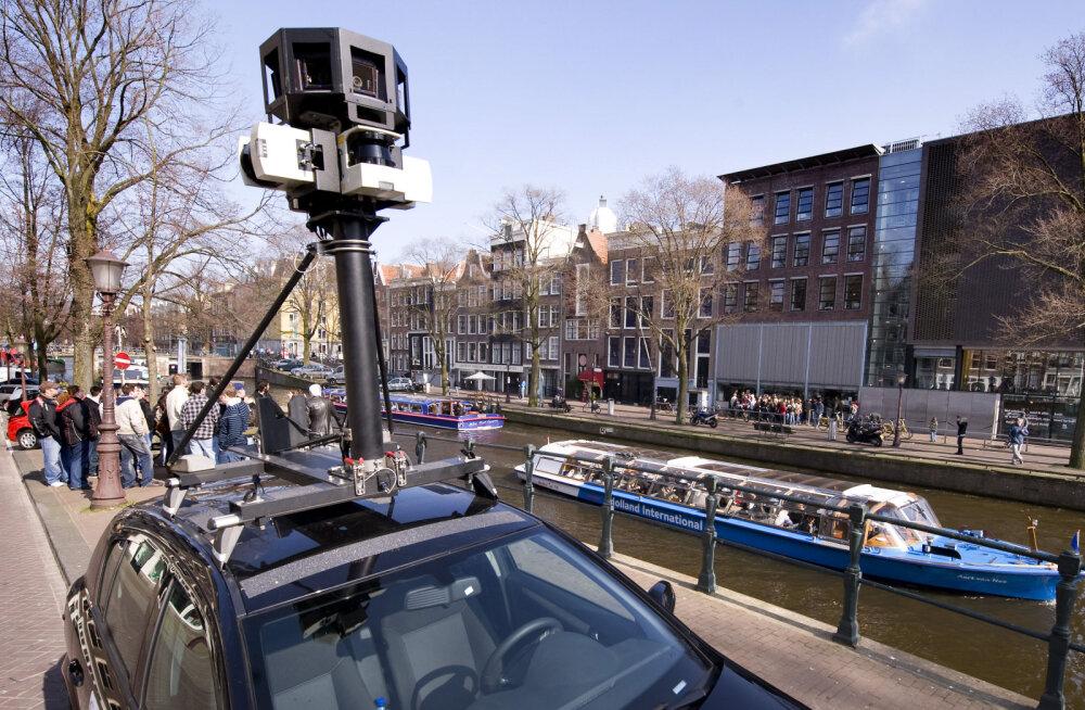 Google Street View autod tulevad jälle Eestisse