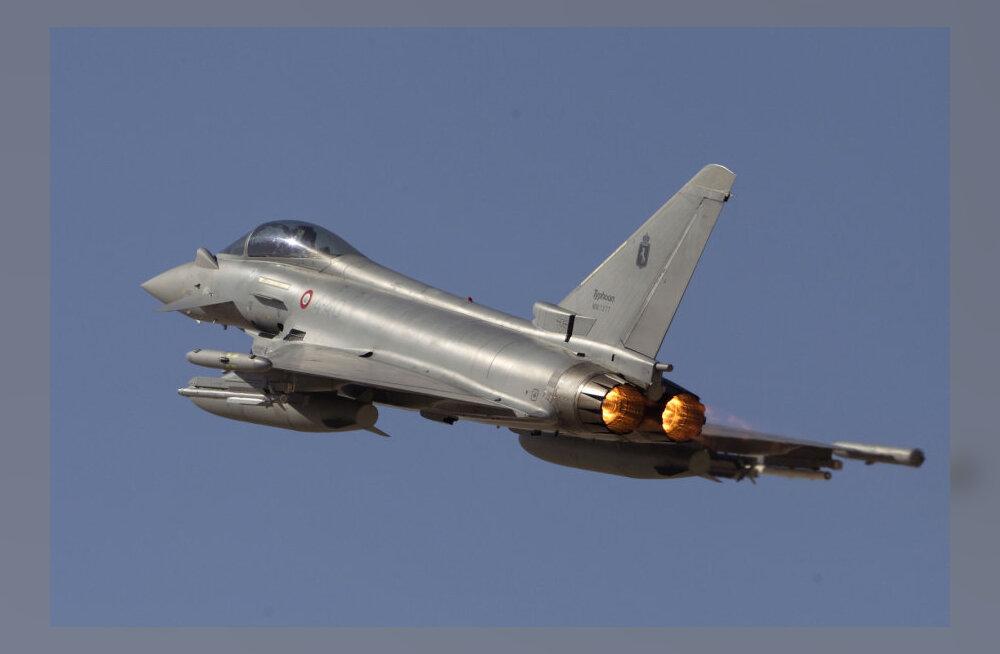 Испанский истребитель произвел по ошибке запуск боевой ракеты в районе Отепя. Ракету разыскивают