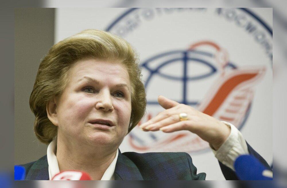 Valentina Tereškova on valmis kohe igaveseks Marsile lendama
