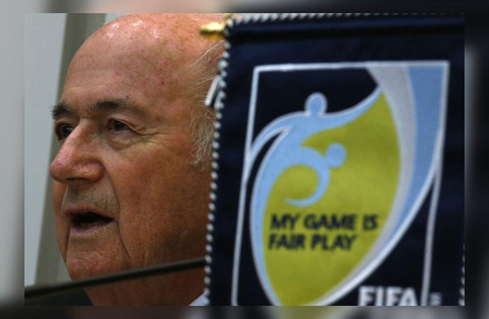 Blatter: Katarile MM-i andmine oli viga