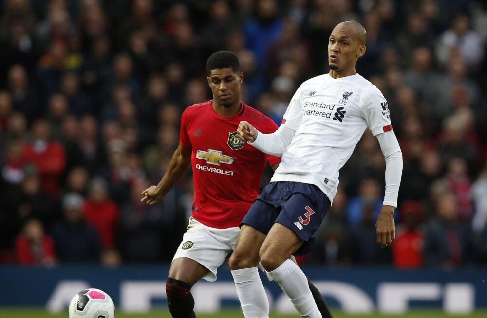 Kaotusseisust välja tulnud Liverpool võitles Manchester Unitedi vastu välja viigi