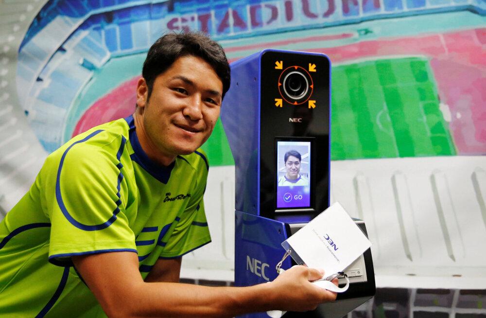 NEC tutvustas täna Tokyo olümpiamängudel kasutatavat näotuvastussüsteemi