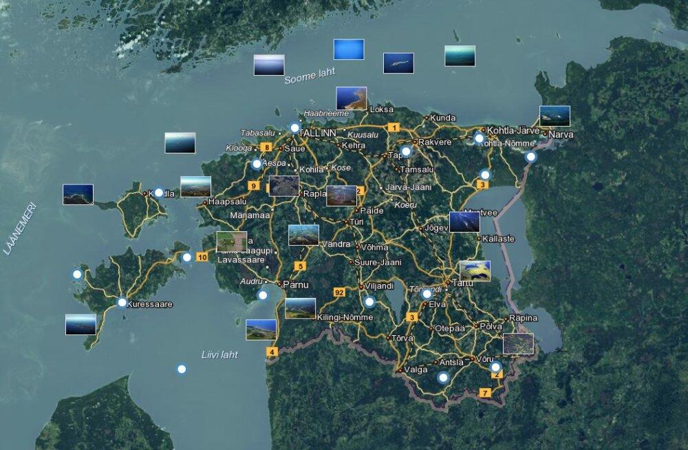 Eesti kohta lisandus 800 000 kaldaerofotot