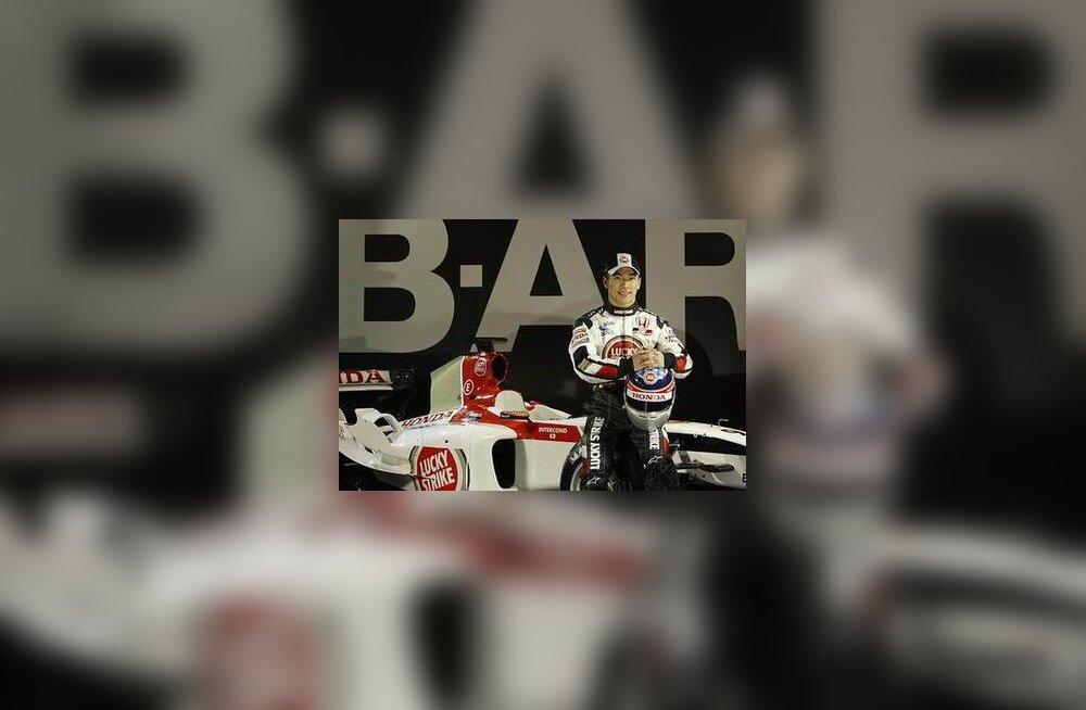 Takuma Sato ja BAR 006