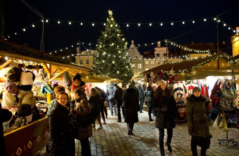 Jõuluturg 2013.Raekoja plats