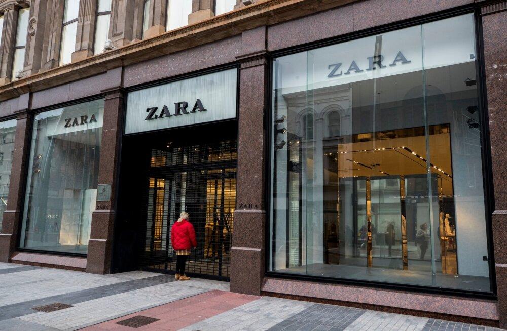 Zara kauplused peaks Inditexi poodide sulgemise lainest valdavalt puutumata jääma.