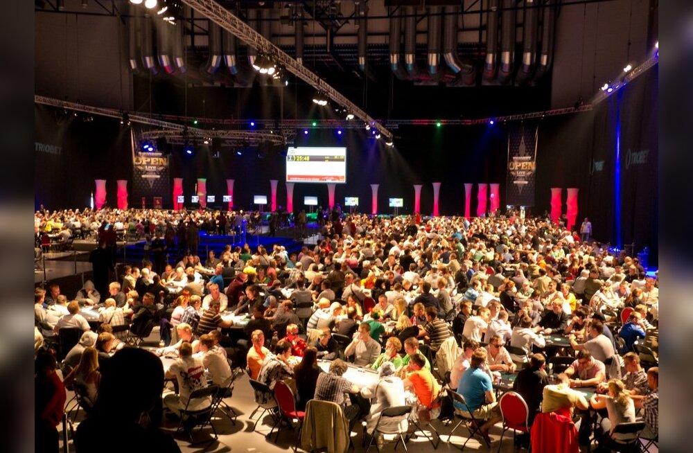 Tallinnas toimunud suur pokkeriturniir jõuab teleekraanile