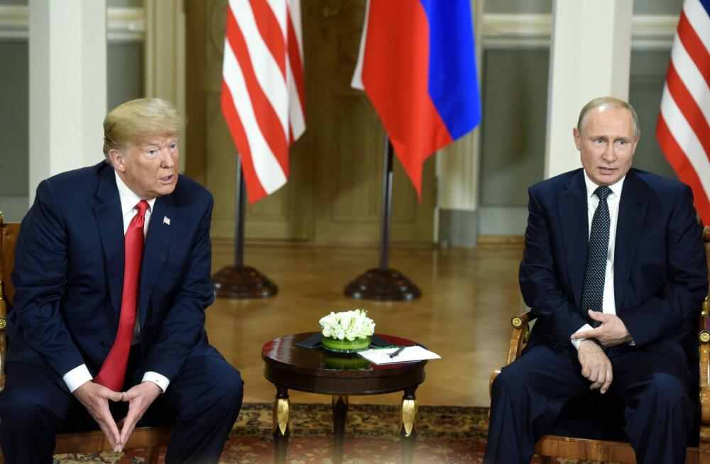Valge Maja lükkas kalevi alla ka memod Trumpi vestlusest Putiniga