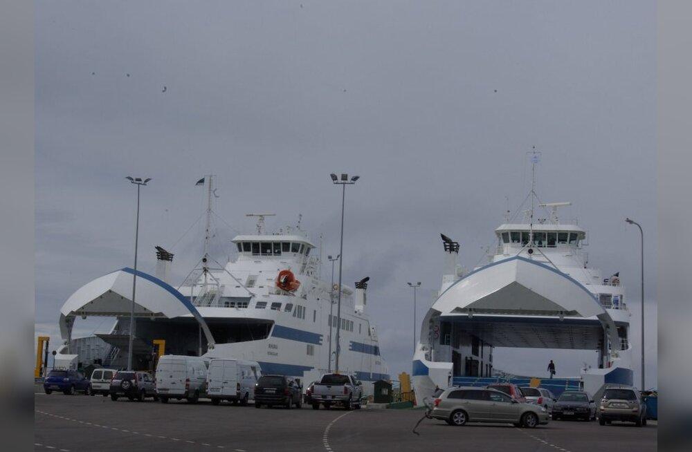 Torm katkestas laevaliikluse Hiiumaaga