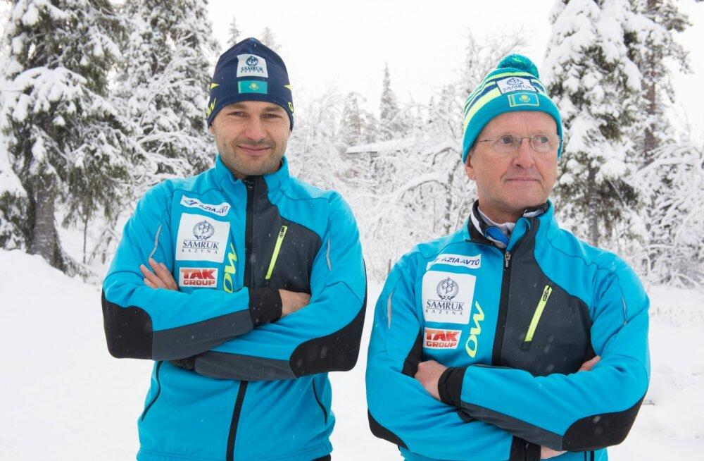 Andrus Veerpalu ja Mati Alaver peavad end dopingureeglitest ülemaks.