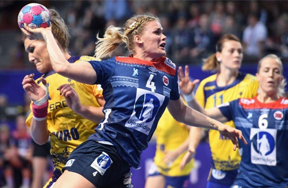 Naiste käsipalli EM, vastasseis Norra - Rumeenia