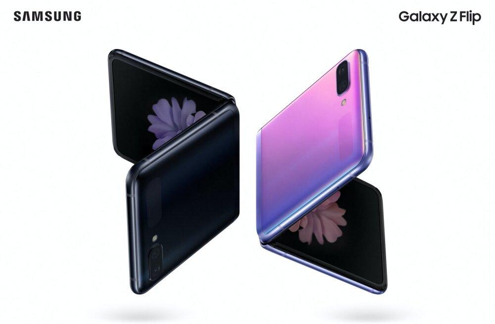 TEST | Nädal Samsungi 1500-eurose, painduva ekraaniga telefoni Galaxy Z Flip seltsis