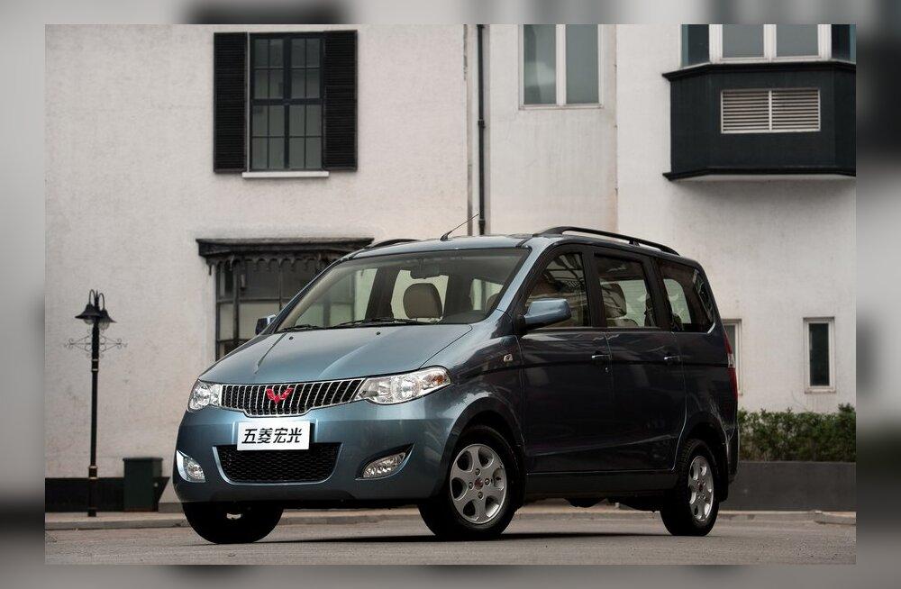 Wuling Hongguang (alias Chevrolet Enjoy). Foto: GM