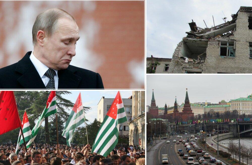 """Analüütik: Kreml hoiab elus ja loob jultunult kalkuleerides juurde """"külmutatud konflikte"""""""