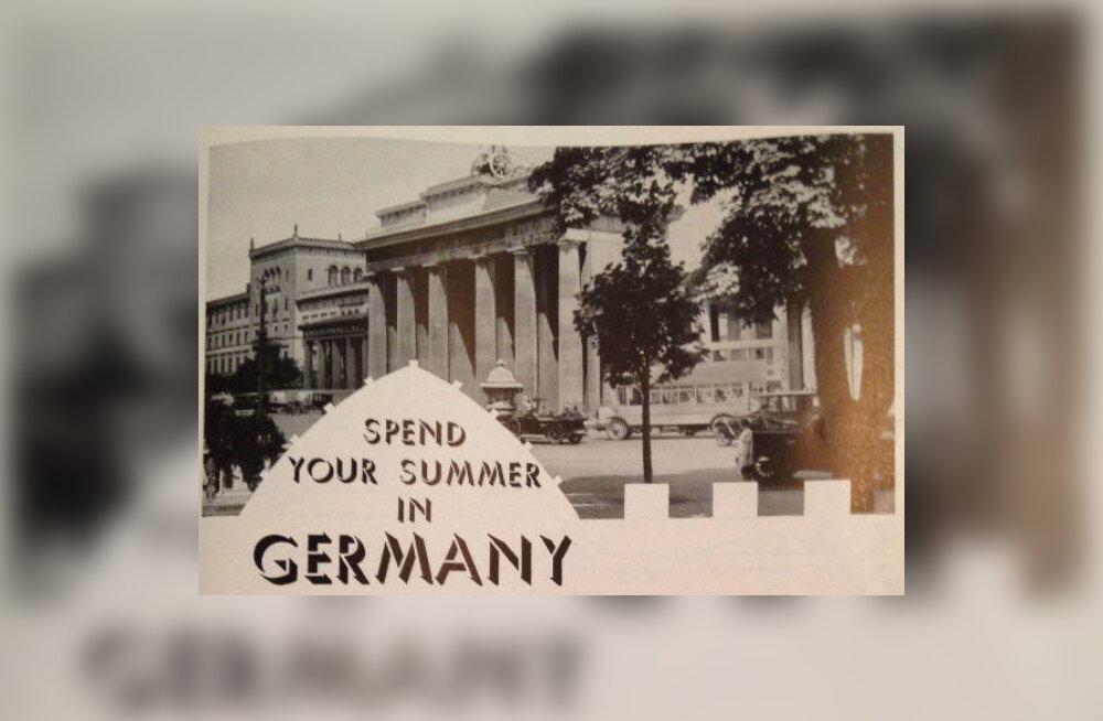 """""""Kuulus Saksa külalislahkus"""": kuidas natsi-Saksamaa end Ameerika turistidele reklaamis"""