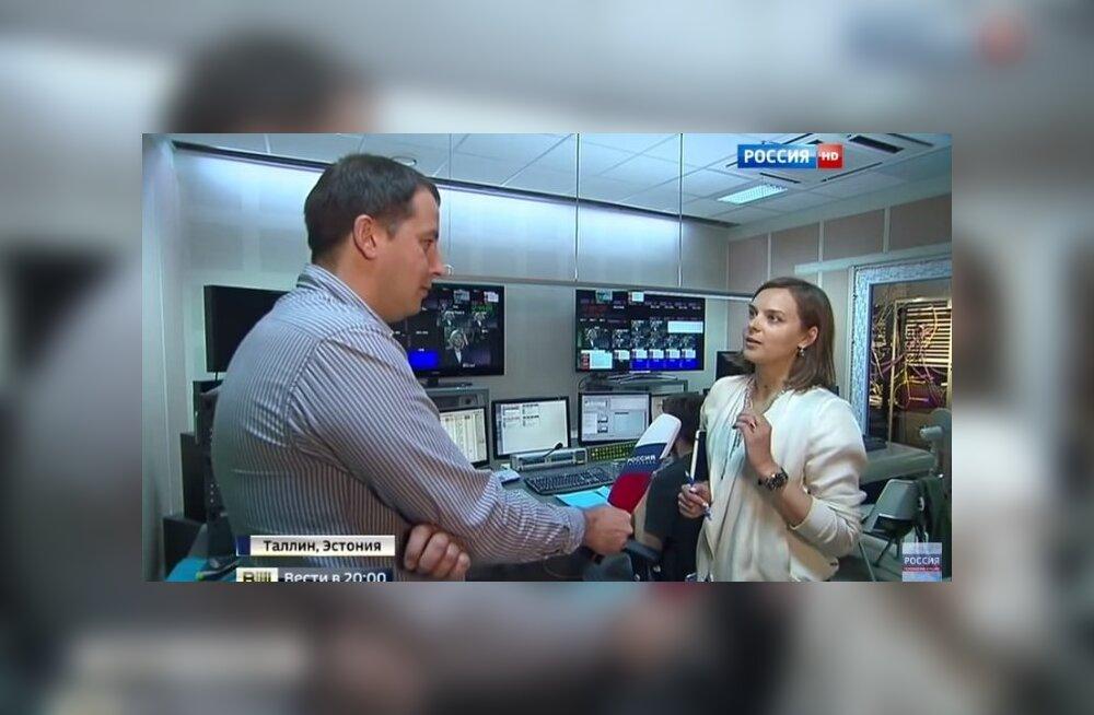 Miks ei näita ETV kogu filmitud materjali Darja Saare ja Vene ajakirjaniku intervjuust?