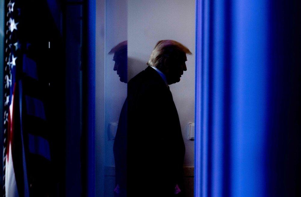 Trump avaldas poolehoidu kodus püsimise vastastele protestidele